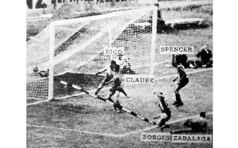 First goal of the Copa Libertadores